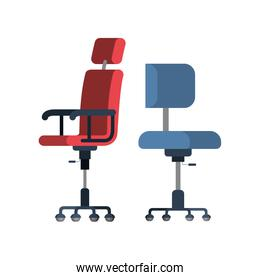 office chair with white background
