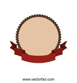 Isolated seal stamp design vector