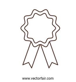 Isolated seal stamp design vector illustration