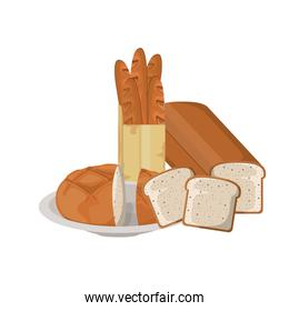 fresh and delicious bakery bread