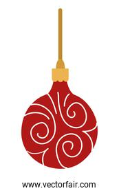merry christmas ball hanging decoration