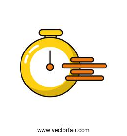 timer chronometer speed isolated icon