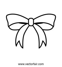 bow tie ribbon decorative icon