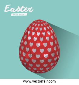 easter low poly design