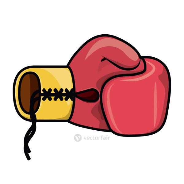 boxing gloves  isolated icon design