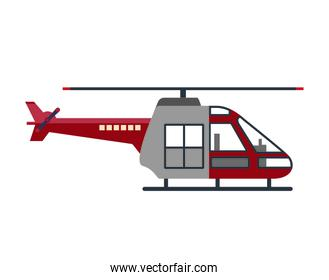 helicopter vehicle flying icon