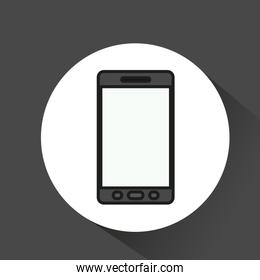 smartphone technology portable icon