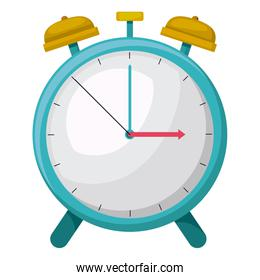 clock alarm time drawing isolated icon