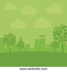 Eco and green city design