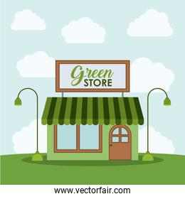 Green store and eco design