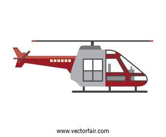 Isolated helicopter transportation design