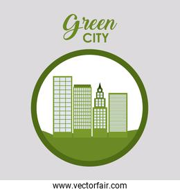 Green city and ecology design