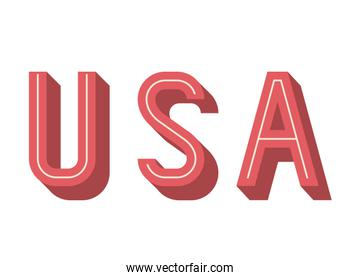 Usa and Labor day design