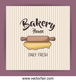 Rolling pin of bakery design