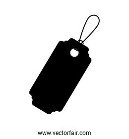 Isolated hanging tag design