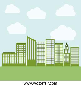 Tower Buildings of City design