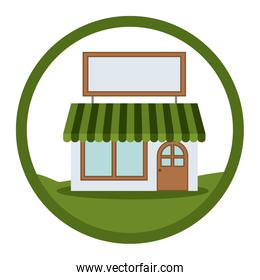 Isolated small store design