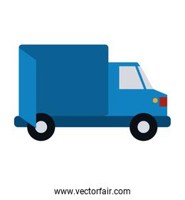 Isolated delivery truck design