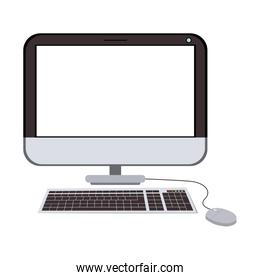 computer device icon isolated