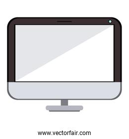computer device technology icon isolated