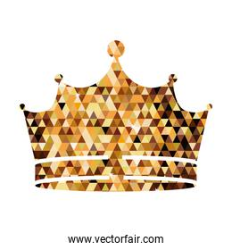 Isolated crown design