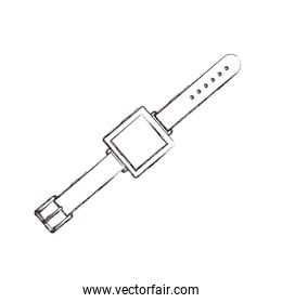 Isolated smart watch design