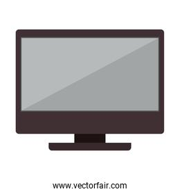 computer monitor device technology isolated icon