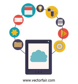 Tablet and cloud computing design