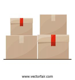 Isolated delivery package design