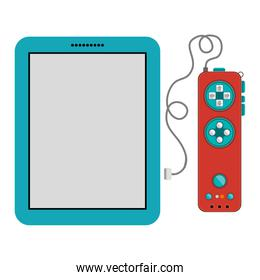 Isolated gamepad and tablet design