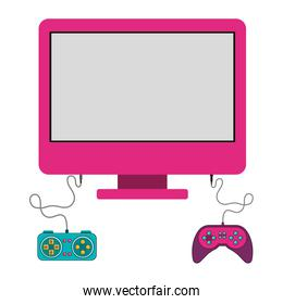 Isolated gamepad and computer design