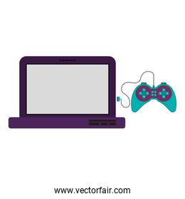 Isolated gamepad and laptop design