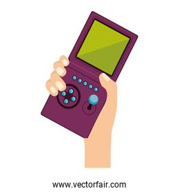 Isolated gamepad of videogame design