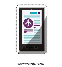 Smartphone and travel ecommerce design