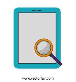 Isolated tablet device design