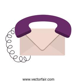Isolated envelope and phone design