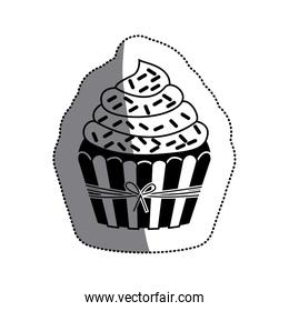 Isolated muffin design