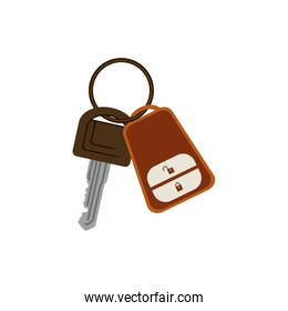 key ring with alarm system