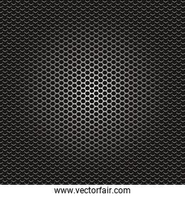 metal holes dark background