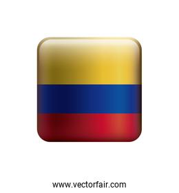 square with colors colombian flag