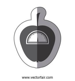 contour apple weight scale icon