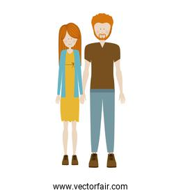 people couple together icon