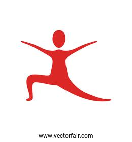 people fitness stretching icon