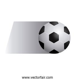 colorful background of fast moving soccer ball