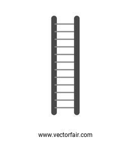 white background with color ladder
