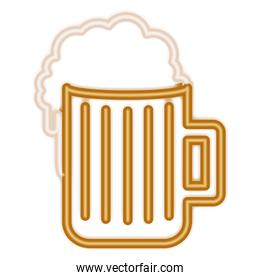 beer drink isolated icon