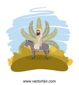 Jesus christ in the mule avatar character