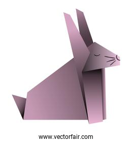 cute rabbit origami paper animal