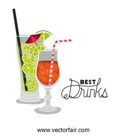 best drinks tropical cocktail