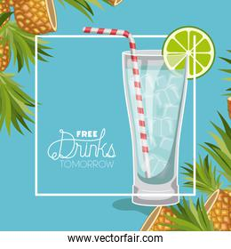 cocktail free drink tomorrow